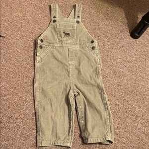 Carters corduroy overalls size 18 months